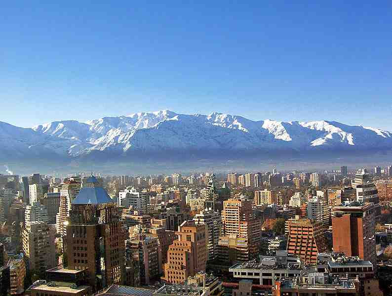 Projet à long terme : World Tour Santiago-du-chili-cordilliere-des-andes